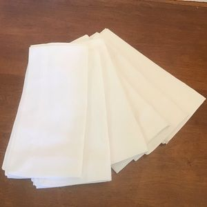 Pottery Barn 100% Cotton Napkins x 6